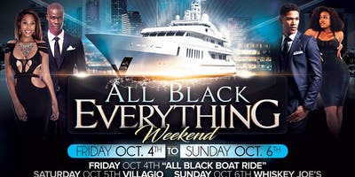 ALL BLACK EVERYTHING WEEKEND