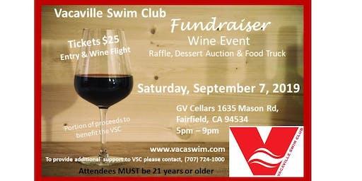Wine Tasting Fundraiser to Support Vacaville Swim Club