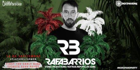 RAFA BARRIOS 14 SEP boletos