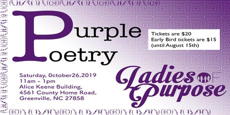 Purple Poetry tickets