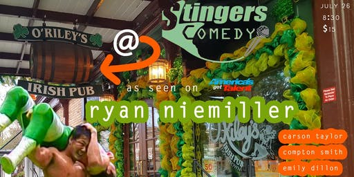 Stingers Comedy at O'Riley's Irish Pub: Ryan Niemiller from AGT