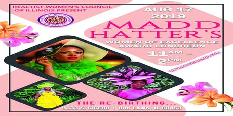 RWCI MADD Hatter's & Women of Excellence Award Luncheon tickets