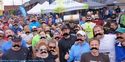 Movember Brew run + axe throwing w/LandLocked Ales