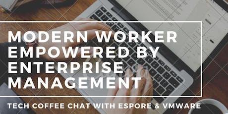 Espore and VMware Workspace ONE workshop tickets