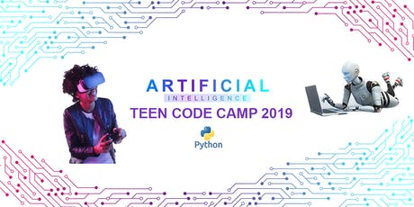 STEM Artificial Intelligence (AI) Teen Code Camp 2019 tickets