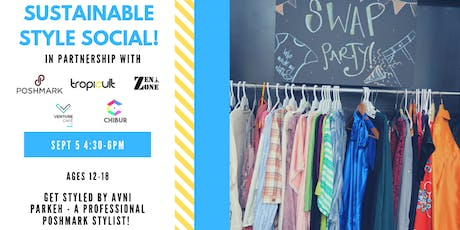 Sustainable Style Social - Swap and Shop! tickets