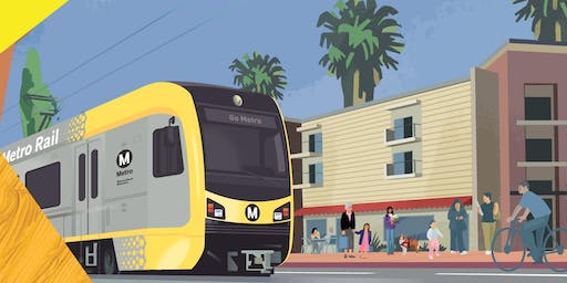 Learn About East LA Light Rail with Jenny Cristales-Cevallos: Thurs., Sept. 12, 6 pm