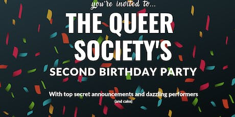 The Queer Societies 2nd Birthday Party tickets