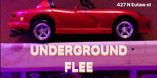 Underground flee