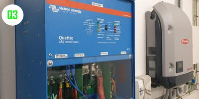 (Q3) Victron Energy Hands-On Training - Day 2 Workshop: Battery Storage Systems