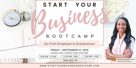 Start Your Business Bootcamp tickets