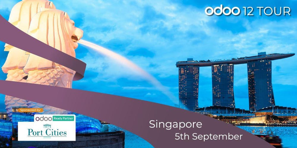 Odoo 12 Tour Singapore Tickets, Thu, Sep 5, 2019 at 2:00 PM | Eventbrite