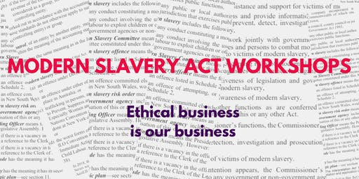 Modern Slavery Act Workshop