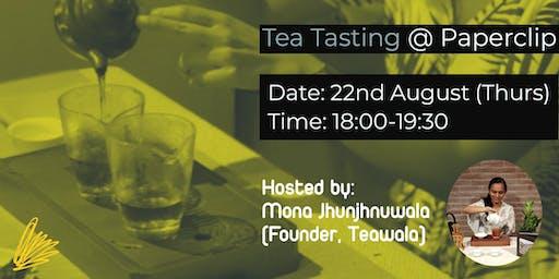 Tea Tasting @ Paperclip