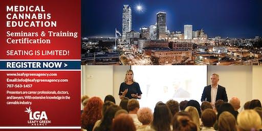 Oklahoma Budtender and Brand Ambassador Sales Training -Oklahoma City