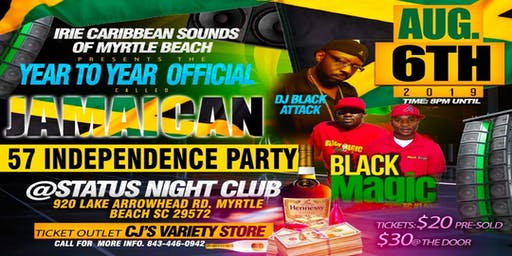 The 57th Jamaica independence celebration party