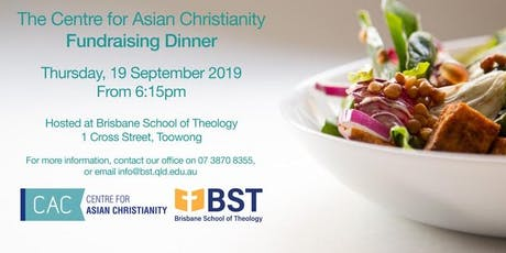 Centre for Asian Christianity Fundraising Dinner 2019 tickets