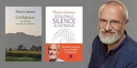 DE LA PSYCHOLOGIE À LA SPIRITUALITÉ: LE CHEMIN DU RETOUR À L'ESSENTIEL - Avec Thierry Janssen, auteur et médecin. billets
