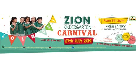 Zion Kindergarten Open House Carnival 2019 tickets