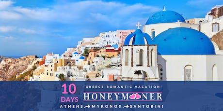 Preview: Santorini Greece as your Honeymoon Destination tickets