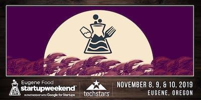 Startup Weekend Eugene: Food Edition — Nov. 8-10, 2019