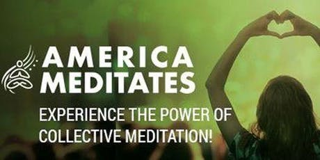 America Meditates tickets