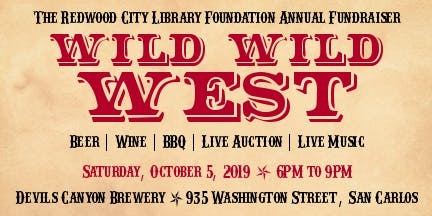 Redwood City Library Foundation's Annual Fundraiser