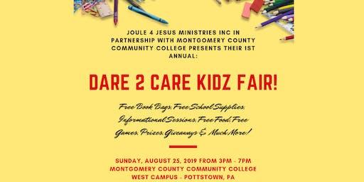 Dare 2 Care Kidz Fair