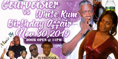 Courvoisier vs White Rum tickets