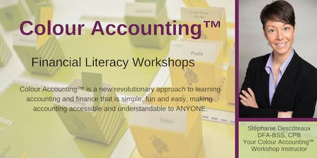 September Colour Accounting™ Finance Workshop - Improve your financial literacy! tickets