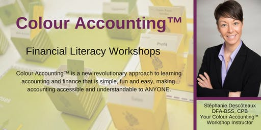 September Colour Accounting™ Finance Workshop - Improve your financial literacy!