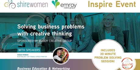 ShireWomen Inspire - sponsored by Emroy Creative Group tickets