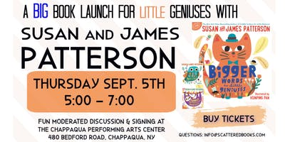 James & Susan Patterson Picture Book Launch & Signing