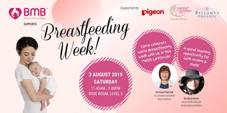 BMB Supports Breastfeeding Week! tickets