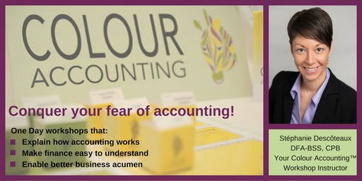 November Colour Accounting™ Finance Workshop - Improve your financial literacy!