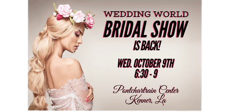 Wedding World Bridal Show tickets