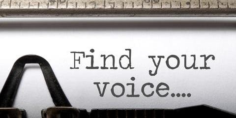 Finding your 'Academic Voice' – Skills to survive and succeed as a writer