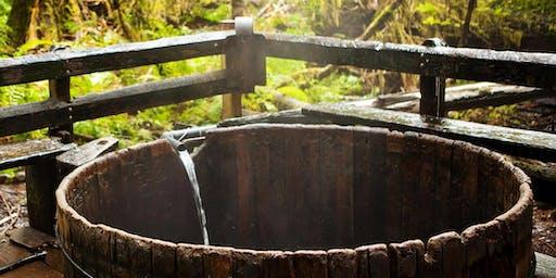 Bagby hot spring ritual bathing retreat
