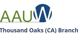 AAUW Thousand Oaks Fall Kickoff Breakfast - CA STATE...