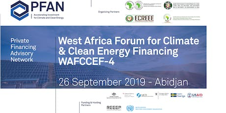 PFAN West Africa Forum for Climate & Clean Energy Financing (WAFCCEF4) tickets