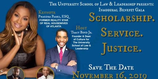 University School of Law & Leadership Inaugural Benefit Gala