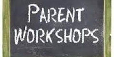 Parent Workshop - 11 September and 18 September
