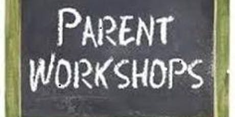 Parent Workshop - 11 September and 18 September tickets
