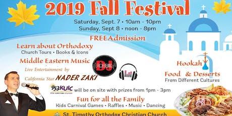 St. Timothy Orthodox  Christian Church 2019 Fall Festival tickets