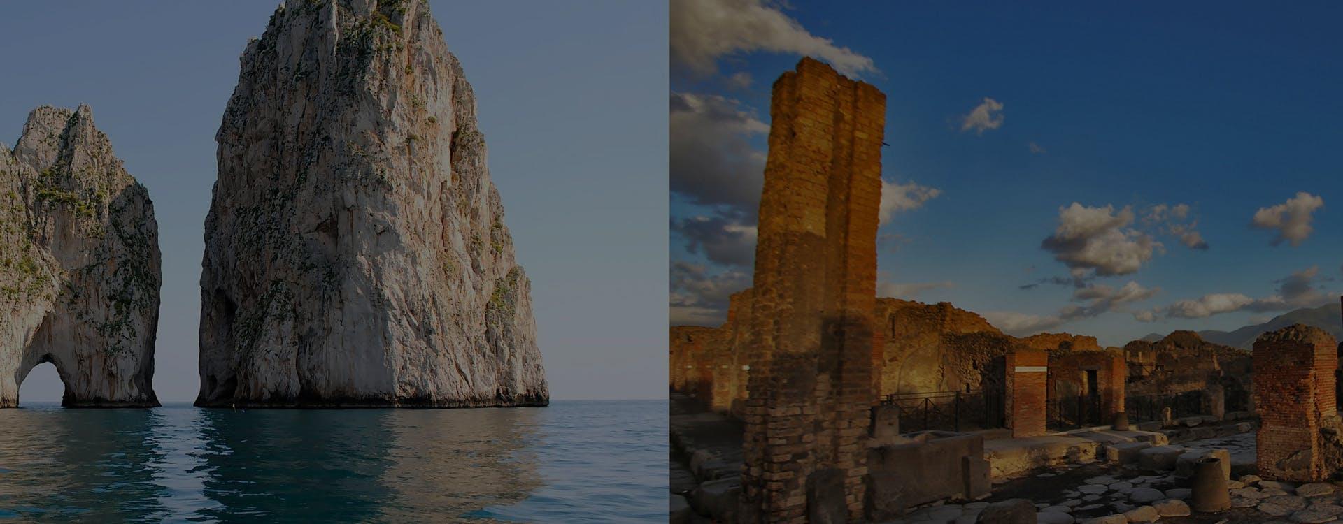 Capri and Pompeii Combined Tour