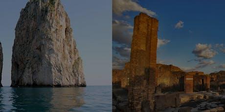 Capri and Pompeii Combined Tour tickets