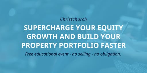 Workshop: Accelerating Your Property Portfolio Growth