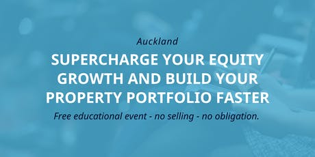 Workshop: Accelerating Your Property Portfolio Growth tickets