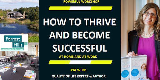 Workshop: How to thrive and become successful - with Quality of Life Expert