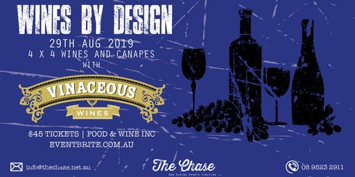 Wines By Design @ The Chase